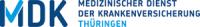 Logo von Medizinischer Dienst der Krankenversicherung Thüringen e. V.