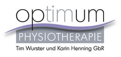 Logo von Physiotherapie Optimum Tim Wurster und Karin Henning GbR